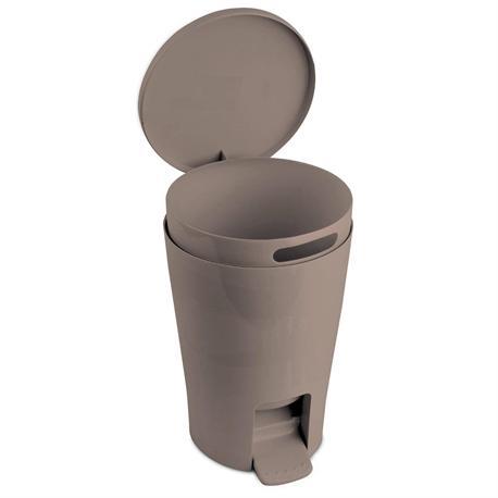 Πλαστικό χαρτοδοχείο 5lt beige