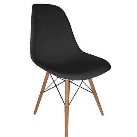 Καρέκλα μαύρο PP