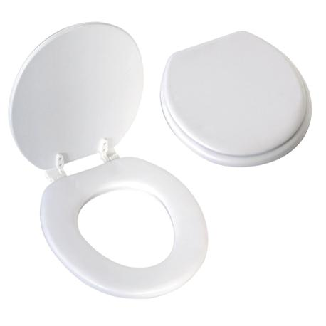 Plastic soft toilet seat 36,5Χ39,5 cm