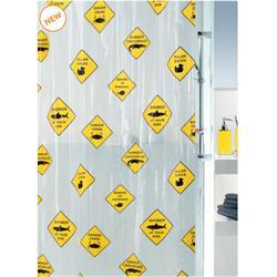 Κουρτίνα μπάνιου κίνδυνος 100% peva 180Χ200 cm