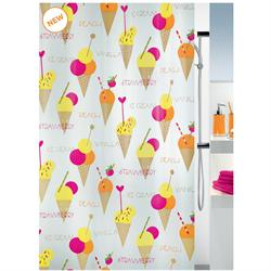 Shower curtain cone 100% peva 180X200 cm