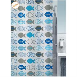 Κουρτίνα μπάνιου fish 100% peva 180Χ200 cm