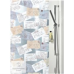 Shower curtain post 100% pvc 180X200 cm