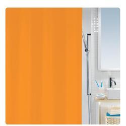 Κουρτίνα μπάνιου μονόχρωμη πορτοκαλί 100% peva 180Χ200 cm