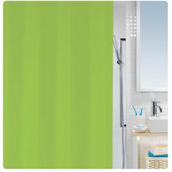 Shower curtain green 100% peva 180X200 cm