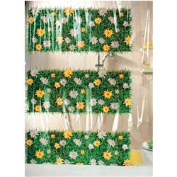 Shower curtain gazon 100% pvc 180X200 cm