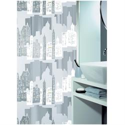 Shower curtain horizon 100% peva 180X200 cm