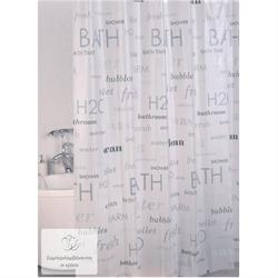 Shower curtain bath 100% peva 180X200 cm