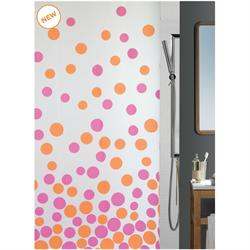 Shower curtain happy 100% peva 180X200 cm