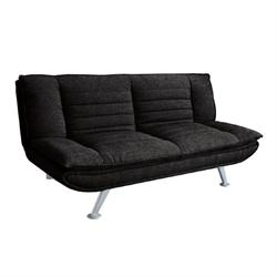 Sofa-bed fabric black