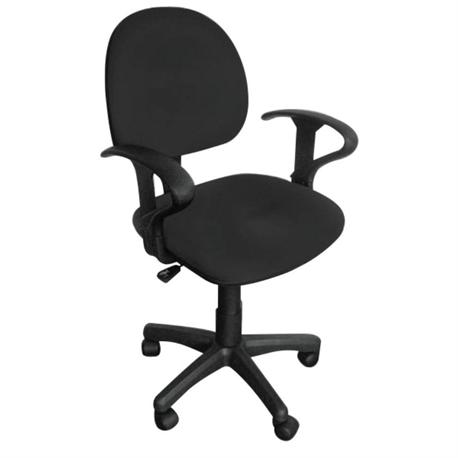 Office chair whit arms black 59Χ58Χ81/99