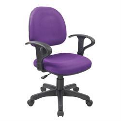 Καρέκλα γραφείου με μπράτσα μώβ 59Χ58Χ81/99