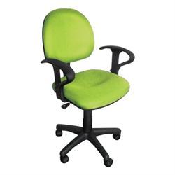Καρέκλα γραφείου με μπράτσα λαχανί 59Χ58Χ81/99
