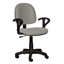 Καρέκλα γραφείου με μπράτσα αν.γκρί 59Χ58Χ81/99