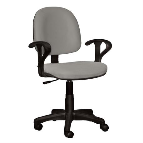Office chair whit arms grey 59Χ58Χ81/99