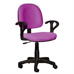 Καρέκλα γραφείου με μπράτσα φούξια 59Χ58Χ81/99