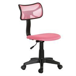 Καρέκλα γραφείου ροζ 46Χ52Χ77/89