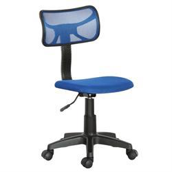 Καρέκλα γραφείου μπλέ 46Χ52Χ77/89