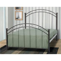 Iron Single bed ANDROS 90X200 cm