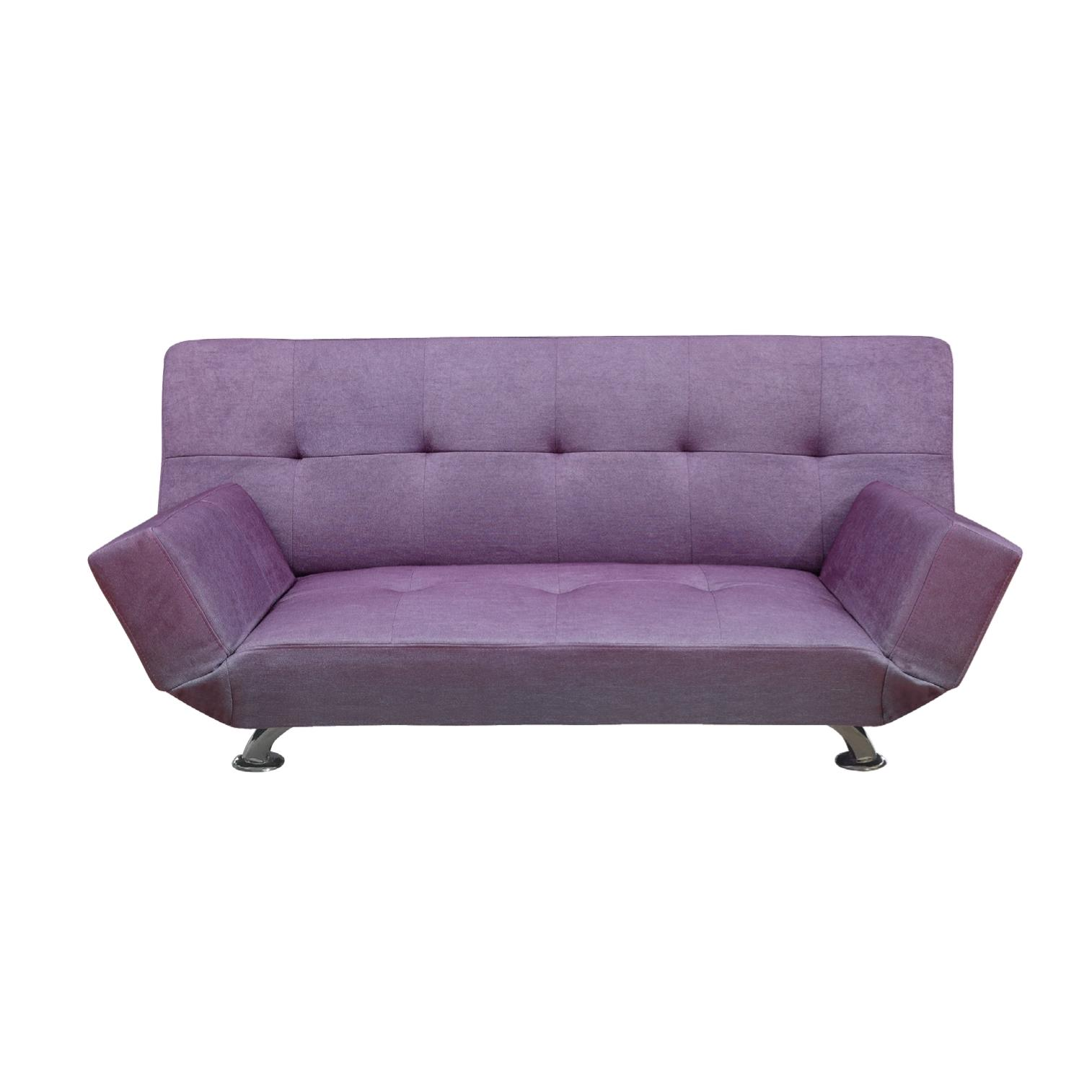 Purple sleeper sofa purple fabric sofa sleeper mb 11 for Purple sofa