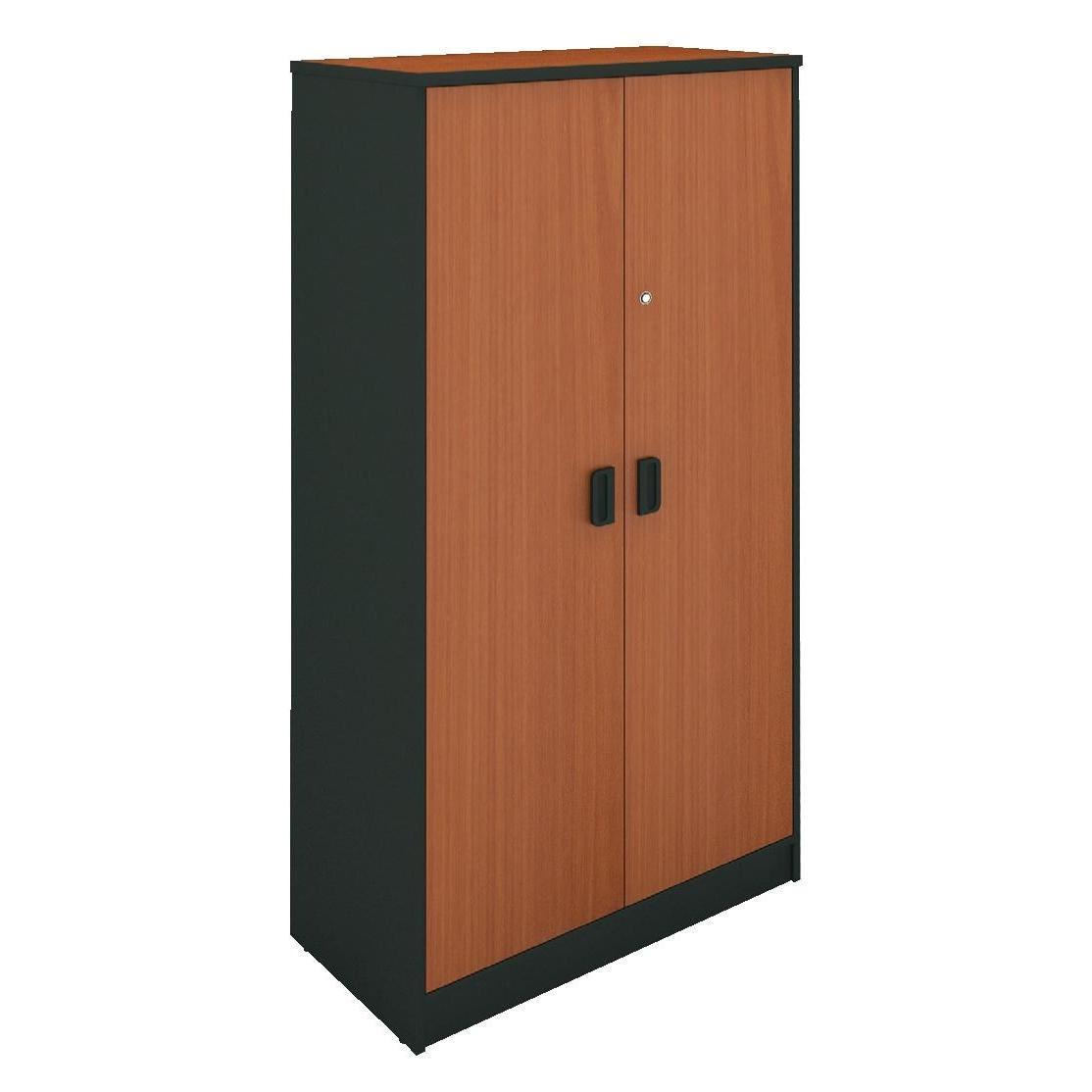 Office Closet Grey Cherry 80 40 172