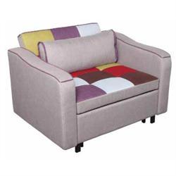 Πολυθρόνα -κρεβάτι ύφασμα patchwork