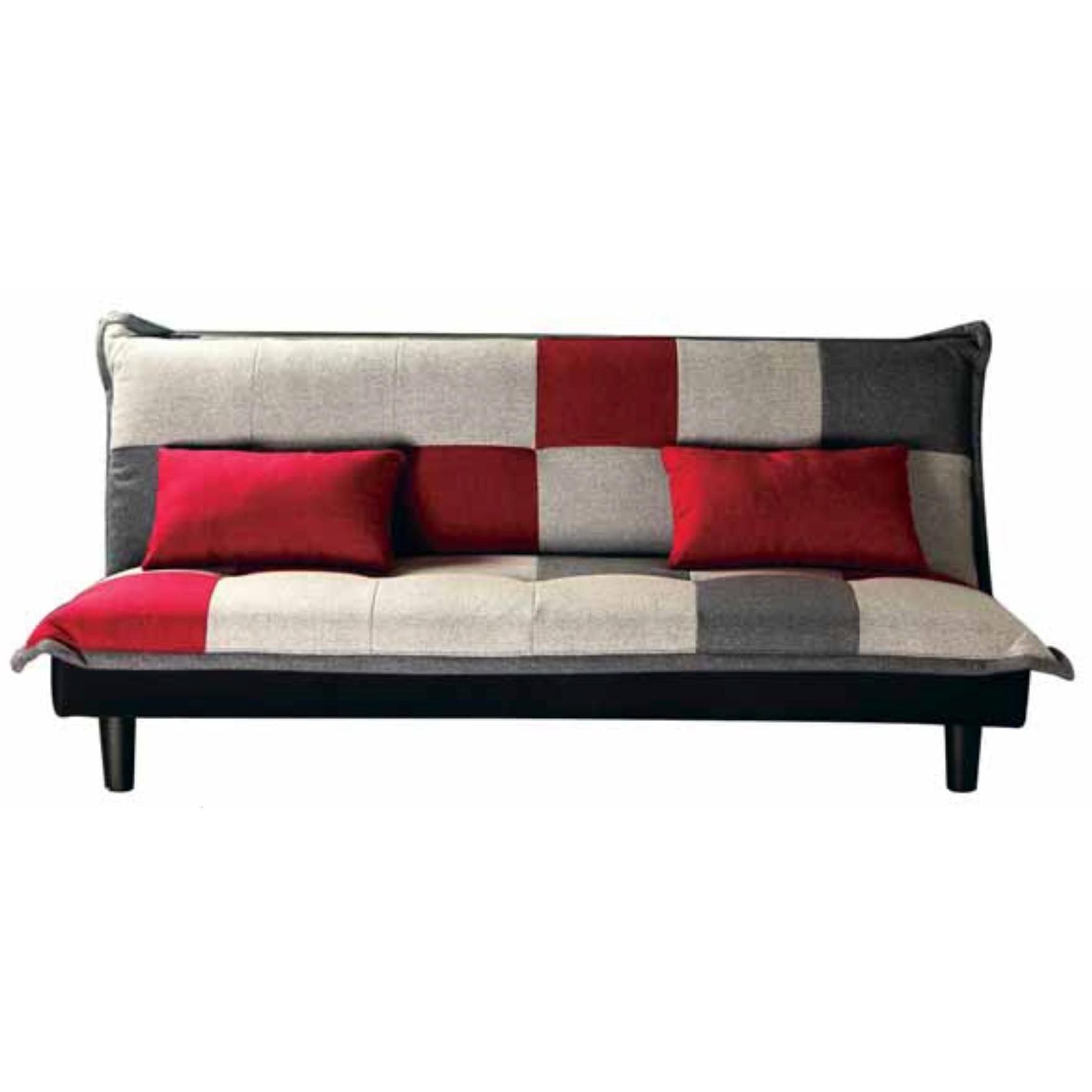 Sofa bed click clack patchwork