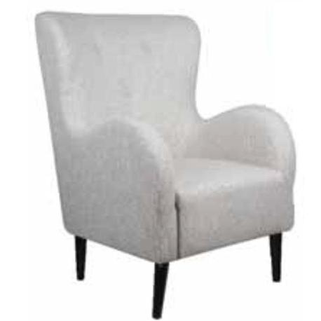 Armchair fabric ecru