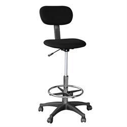 Ψηλή καρέκλα γραφείου μαύρη 42Χ40Χ97/117