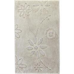 Χαλάκι μπάνιου Design beige 100% polyester 50X80 cm