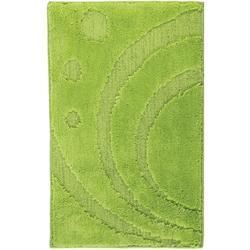 Χαλάκι μπάνιου Design green 100% polyester 50X80 cm