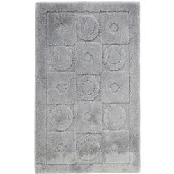 Χαλάκι μπάνιου Design grey 100% polyester 50X80 cm