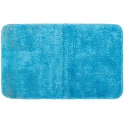 Χαλάκι μπάνιου Plain turquise 100% polyester 50X80 cm