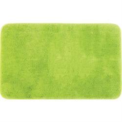 Χαλάκι μπάνιου Plain green 100% polyester 50X80 cm