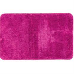 Bathmats Plain fuchsia 100% polyester 50X80 cm