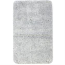 Χαλάκι μπάνιου Plain grey 100% polyester 50X80 cm