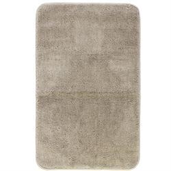 Χαλάκι μπάνιου Plain beige 100% polyester 50X80 cm