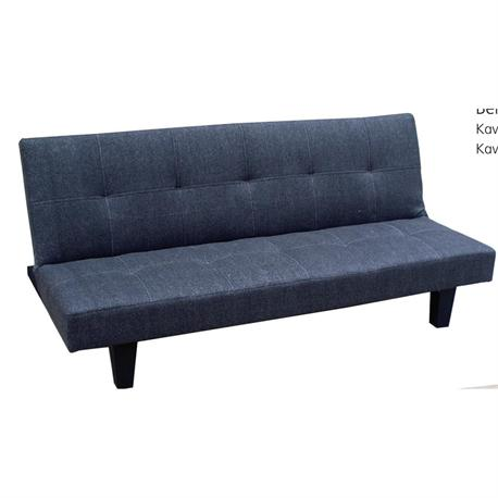 sofa-bed fabric dark grey CLICK CLACK