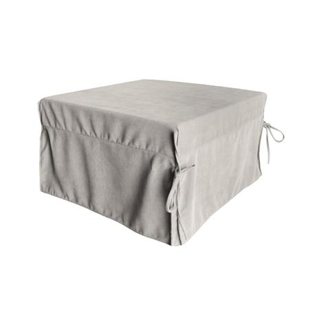 Stool -bed fabric ecru(beige)