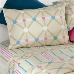 Set bedsheets double +2 Pillow cases - DIAGONAL