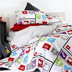 Set bedsheets single+1 Pillow case-SMART PHONES
