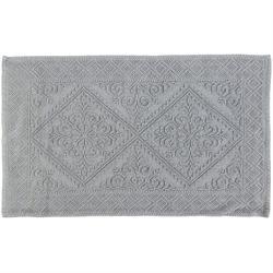 Cotton bathmats retro grey 50Χ80 cm