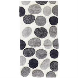 Cotton bathmats stone 2 50Χ120 cm