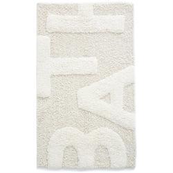 Βαμβακερό χαλάκι μπάνιου bath cream 50Χ80 cm
