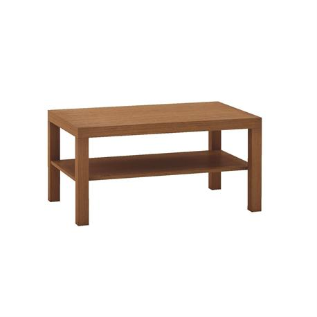 Coffee table cherry red