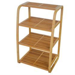 Shelves from bamboo 45Χ35Χ75 cm