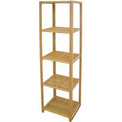 Shelves from bamboo 30Χ36Χ139 cm