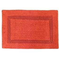 Βαμβακερό χαλάκι μπάνιου orange 45X65 cm