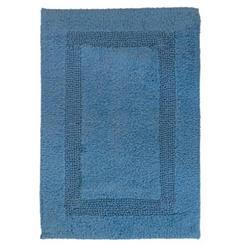 Βαμβακερό χαλάκι μπάνιου blue 45X65 cm
