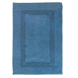 Cotton bathmats blue 45X65 cm